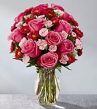 Le bouquet Precious Heart™ - VASE INCLUS