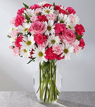Le bouquet Sweet Surprises® - VASE INCLUS