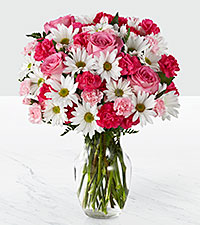 The FTD® Sweet Surprises® Bouquet- VASE INCLUDED