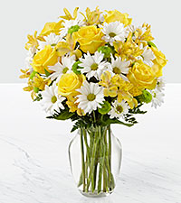 Le bouquet Sunny Sentiments™ - VASE INCLUS