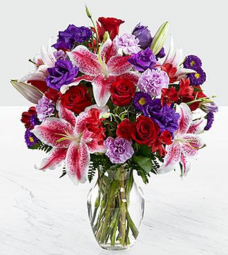 Le bouquet Stunning Beauty™ - VASE INCLUS