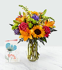 Best Day™ Bouquet & Card