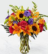 Le bouquet Best Day™ – VASE INCLUS