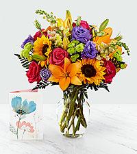 Best Day™ Bouquet & Card