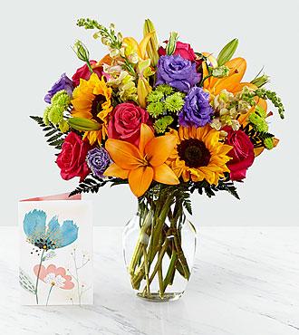 Bouquet Best Day™ et carte