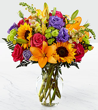 The FTD® Best Day™ Bouquet- VASE INCLUDED