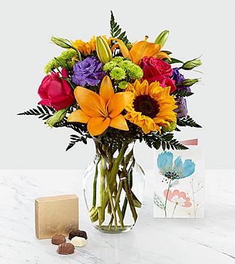 Best Day™ Bouquet & Gift Set