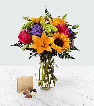 Bouquet Best Day™ et chocolats