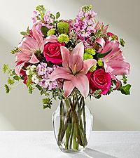 Le bouquet Pink Posh™ – VASE INCLUS