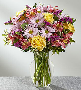 The FTD® True Charm™ Bouquet- VASE INCLUDED