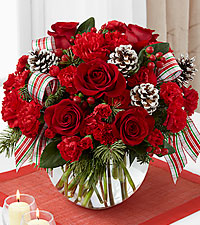 The FTD® Christmas Peace™ Bouquet- VASE INCLUDED