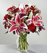 Le bouquet de grande élégance – VASE INCLUS