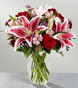 The FTD® High Style Bouquet- VASE INCLUDED
