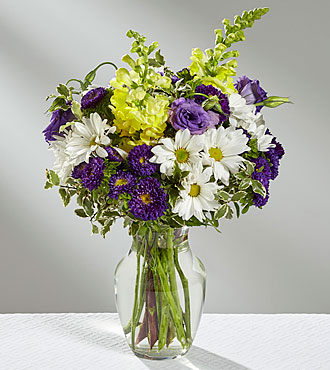 The FTD® Happiness Counts™ Bouquet- VASE INCLUDED