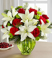 The FTD® Winter Elegance™ Bouquet- VASE INCLUDED