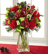 The FTD® Candy Cane Lane® Bouquet