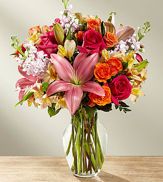 The FTD® Into the Woods™ Bouquet- VASE INCLUDED