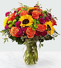 Le bouquet Color Craze™ de FTD® – VASE INCLUS