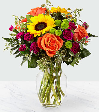Color Craze Bouquet Vase Included