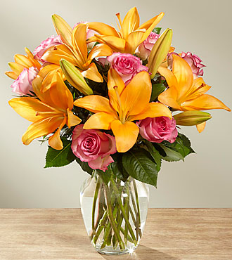The FTD® A Fresh Take™ Bouquet- VASE INCLUDED