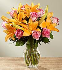 Le bouquet A Fresh Take™ – VASE INCLUS