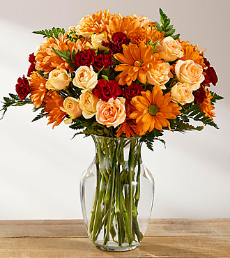 Le bouquet Golden Autumn™ de FTD®
