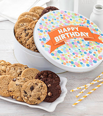 FTD Exclusive! Big Cookie Confetti Tin -BETTER