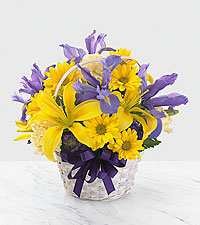 The FTD® Spirit of Spring™ Basket- BASKET INCLUDED