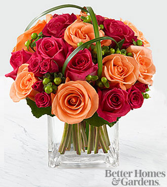 The FTD® Deep Emotions™ Bouquet by Better Homes and Gardens® - VASE INCLUDED