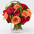 The FTD® Deep Emotions™ Rose Bouquet - VASE INCLUDED