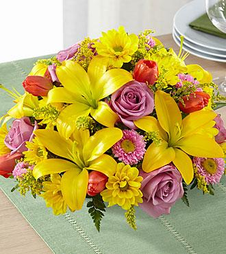 The FTD® Spring Sunshine™ Centerpiece