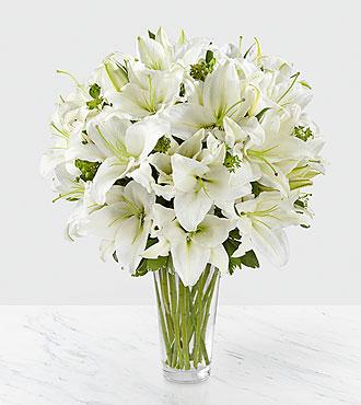 Le bouquet de lys Spirited Grace<sup>&trade;</sup> de FTD® - VASE INCLUS