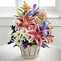 The FTD® Wondrous Nature™ Bouquet with Basket