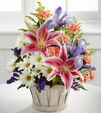 The FTD® Wondrous Nature™ Bouquet - BASKET INCLUDED