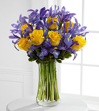 The Sunlit Treasures™ Bouquet by FTD® - VASE INCLUDED