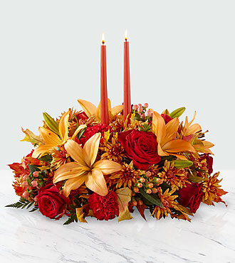Bright Autumn™ Centerpiece - Deluxe