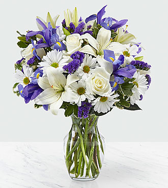 The FTD® Sincere Respect™ Bouquet- VASE INCLUDED