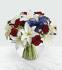 Bouquet Independence - VASE INCLUS
