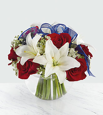 Independence Bouquet - VASE INCLUDED