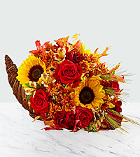 Fall Harvest™ Cornucopia - Exquisite