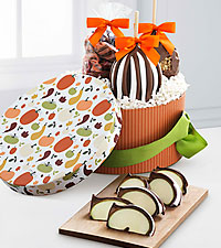 Mrs. Prindables® Fall Pumpkin Gourmet Gift Box