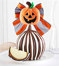 Mrs. Prindables® Jack-O-Lantern Jumbo Halloween Chocolate Covered Apple