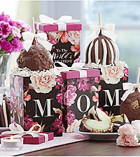 Mrs. Prindables® Greatest MOM Petite Caramel Apple Gift Set