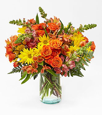 Bouquet Warm Amber