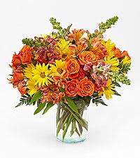Warm Amber Bouquet