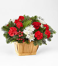 Good Tidings Floral Basket