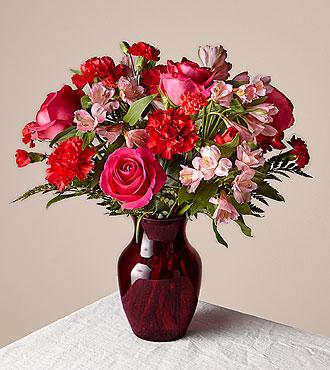 Le bouquet de la saint-valentin