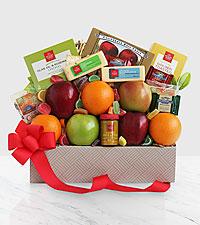 Fresh Fruit & Cheese Box - Best