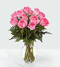Bouquet de roses rosesSmitten™