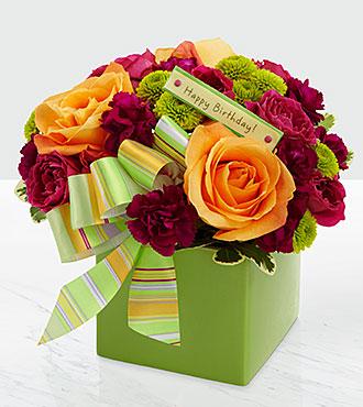 Le bouquet Birthday Bouquet par FTD® - VASE INCLUS